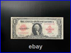 $1 Old Legal Tender Note- 1923 Red Seal -VG