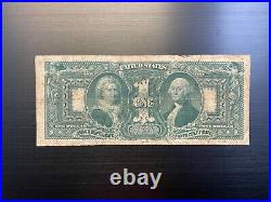 $1 Series of 1896-A -Silver Certificate Educational Note VG