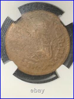 1773 M Quarto Spanish Philippines Rare Die 2 NGC Very Good Details Filipinas