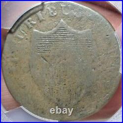 1787 New Jersey Deer Head PCGS VG 8 Very Good Maris 34-J Colonial Copper