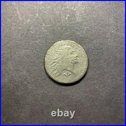 1793 1c Flowing Hair Wreath Large Cent Very Good S-138 Variety Penny