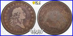 1795 50C Flowing Hair Half Dollar PCGS VG 10 Very Good to Fine Overton 102 R 4