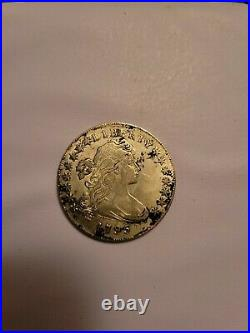 1795 Draped Bust Silver Dollar US $1 Small Eagle very good condition