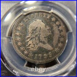 1795 Flowing Hair Half Dollar PCGS VG Very Good 50c Rare Silver Type
