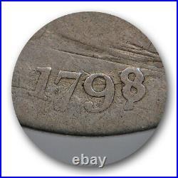 1798/7 10C 16 Stars Reverse Draped Bust Dime PCGS G 6 Good to Very Good