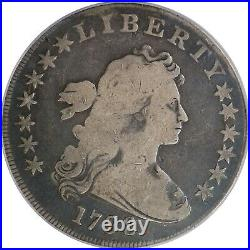 1798 PCGS Silver Draped Bust Dollar Large Eagle VG08 Very Good Original Coin
