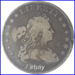 1799 Draped Bust, Heraldic Eagle Reverse Silver Dollar Very Good to Fine