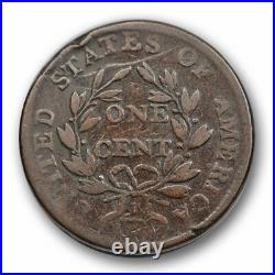 1802 1c Draped Bust Large Cent Very Good to Fine Original US Type #6266