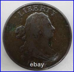 1804 Draped Bust Classic Head Half Cent 1/2¢ Very Good