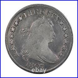 1807 Draped Bust Half Dollar Very Good Condition