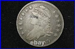 1809 Capped Bust Half, O-115 R2, Very Good