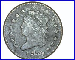 1814 U. S. Classic Head Large Cent Solid Very Good+ Condition Plain 4