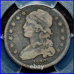 1832 Capped Bust Quarter Pcgs Vg-10 25c Silver Very Good 093 Trusted