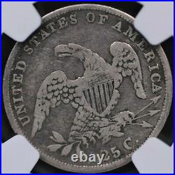 1835 Capped Bust Quarter Ngc Choice Very Good 10 Wholesome And Original Even