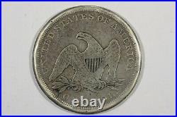 1843 Liberty Seated Dollar, Choice Very Good