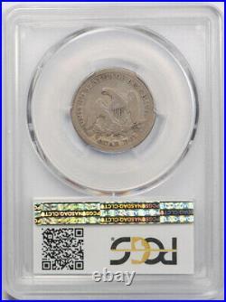 1849 O 25C Seated Liberty Quarter PCGS G 6 Good to Very Good Key Date Rare