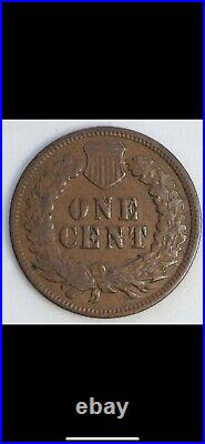 1871 Indian Head Cent Very Good