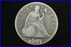 1872 Seated Liberty Dollar. Very Good