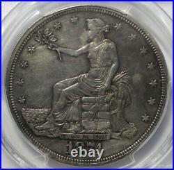 1874 T$1, Trade Dollar, PCGS AU53, Very Good Detail