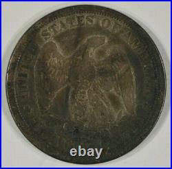 1875-CC Twenty Cent Piece 20c VG-F Very Good to Fine Details Scratched