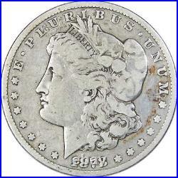 1878 CC Morgan Dollar VG Very Good 90% Silver $1 US Coin Collectible