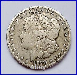 1878-cc U. S. Morgan Silver Dollar Very Good Condition Dings