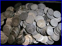 1879-1904 Morgan Silver Dollars VG/F (Very Good/Fine) Pre-1921, Lot of 5 Coins