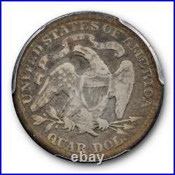 1879 25C Liberty Seated Quarter PCGS VG 8 Very Good Key Date Low Mintage
