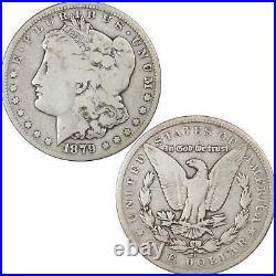 1879 CC Morgan Dollar VG Very Good 90% Silver $1 US Coin Collectible