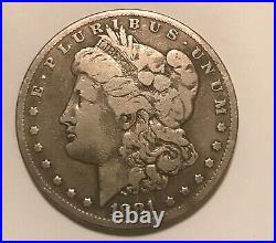 1881-cc Morgan dollar VG rare