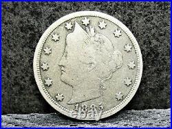 1885 Liberty Nickel Very Good Condition #4