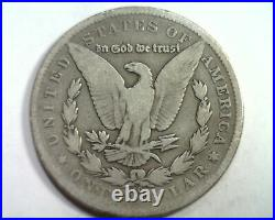 1885-cc Morgan Silver Dollar Very Good Vg Nice Original Coin Bobs Coin Fast Ship