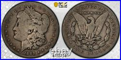 1889 CC $1 Morgan Dollar PCGS G 6 Good to Very Good CAC Approved Key Date