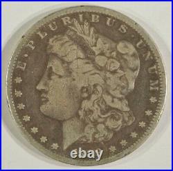 1889-CC Morgan Silver Dollar $1 Very Good to Fine Details VG-F Carson City