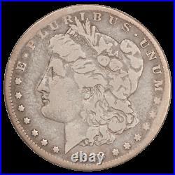 1889-CC Morgan Silver Dollar Circulated Condition Very Good+, Very Nice
