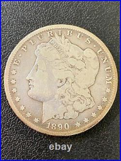 1890 CC Morgan Dollar Very Good Details Better Date Carson City $1