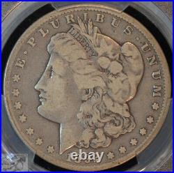 1892 CC VG10 PCGS, Rare Date Morgan Silver Dollar, Very Good, Dollar, C4923