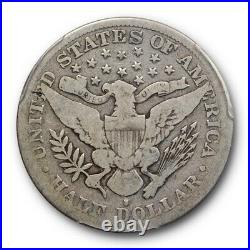 1892 S 50C Barber Half Dollar PCGS VG 8 Very Good San Francisco Mint Key Date