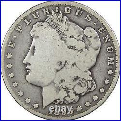1893 CC Morgan Dollar VG Very Good 90% Silver $1 US Coin Collectible