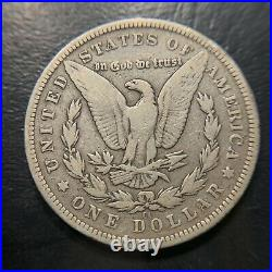1893 CC Morgan Silver Dollar VG Very Good Key Date Carson City S$1