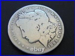 1894 Silver Morgan Dollar/ Vg / Reduced 10% /scarce/one Of The Top 5/stk #2125