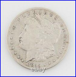 1895-S $1 Morgan Silver Dollar, Very Good Condition, Light Gray Color, Full Rims