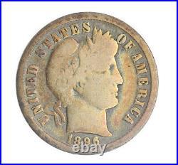 1896-O Barber Dime VG Very Good JO/210