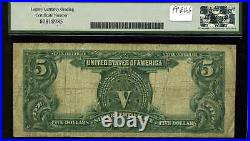1899 $5 Mule Silver Certificate Indian Chief Fr. 280m Very Good 10 #N32428979