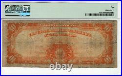 1907 $10 Gold Certificate Note Fr. 1171 Parker Burke Pmg Very Good Vg 10 (665)