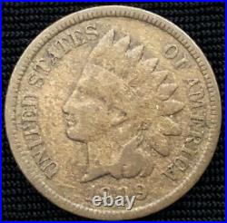 1909-S Indian Head Cent - Very Good +++