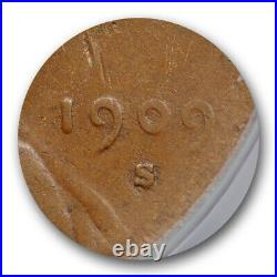 1909 S VDB 1C Lincoln Wheat Cent ANACS VG 10 Very Good to Fine Key Date Original