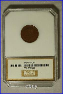 1909-S VDB Lincoln Cent Very Good Nice Color. Some Wheat Lines