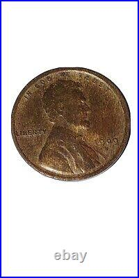 1909-s vdb lincoln cent wheat penny very good details
