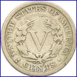 1912-S Liberty Nickel, Very Good, 5c C00052608